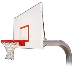 Gooseneck 6 5/8in Basketball Goal System 6015