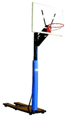 Bison Quik Court Portable Basketball Goal