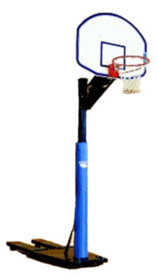 Bison Qwik Court Portable Basketball Goal