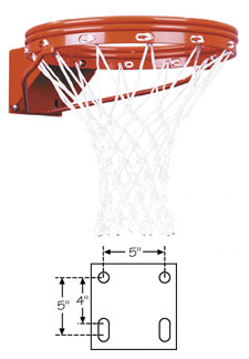 First Team FT172D Basketball Rim
