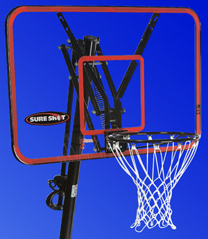 Sure Shot 44' Acrylic Backboard w/ Rim