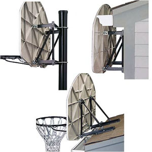 Spalding 8406 Universal Basketball Mounting Bracket
