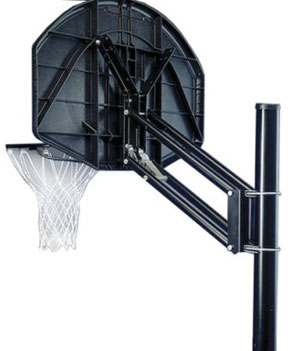 Spalding 8839S Ratchet Adjustable Basketball Hoop System