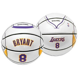 Spalding 64-590E NBA Kobe Bryant Player Home Jersey Basketball