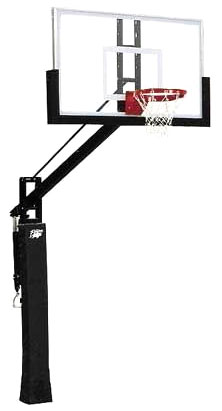 Bison BA9725 Power Adjust Williamsburg Acrylic Basketball Goal