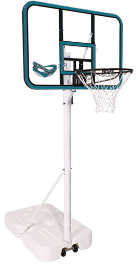 Spalding 77202 Stingray Portable Pool Basketball Goal